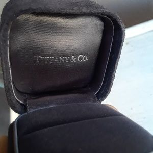 Black Suede Tiffany Ring Box